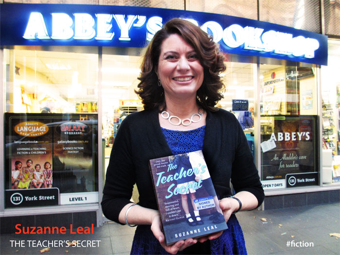 The Teacher's Secret by Suzanne Leal at Abbey's Bookshop 131 York Street Sydney
