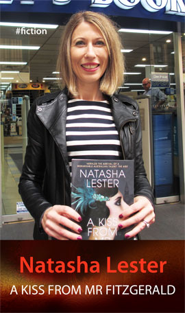 A Kiss from Mr Fitzgerald by Natasha Lester at Abbey's Bookshop 131 York Street Sydney