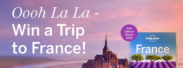 Win a trip to France at Abbey's
