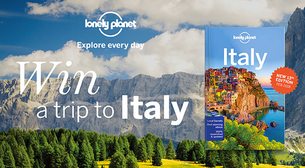 Win a trip to Italy at 131 York Street Sydney
