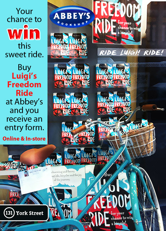 Luigi's Freedom Ride by Alan Murray at Abbey's Bookshop 131 York Street, Sydney