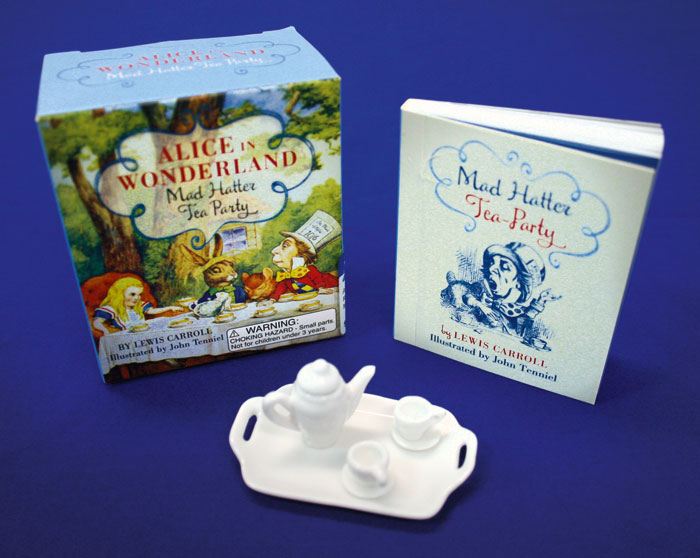 Alice in Wonderland Mad Hatter Tea Party Set at Abbey's Bookshop 131 York Street, Sydney