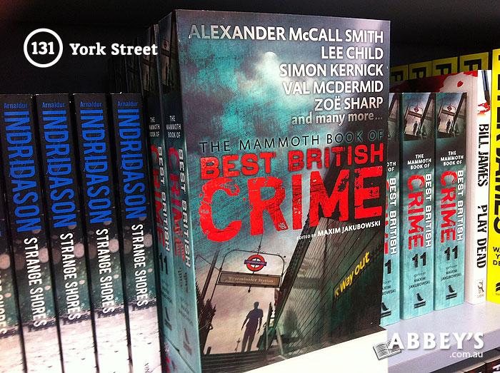 The Mammoth Book of Best British Crime by Maxim Jakubowski at Abbey's Bookshop 131 York Street, Sydney