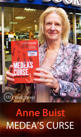 Medea's Curse: Natalie King, Forensic Psychiatrist by Anne Buist at Abbey's Bookshop 131 York Street, Sydney