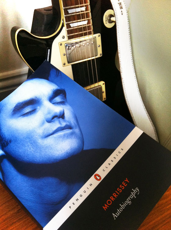 Autobiography by Morrissey at Abbey's Bookshop 131 York Street, Sydney
