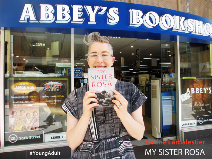 My Sister Rosa by Justine Larbalestier at Abbey's Bookshop 131 York Street, Sydney