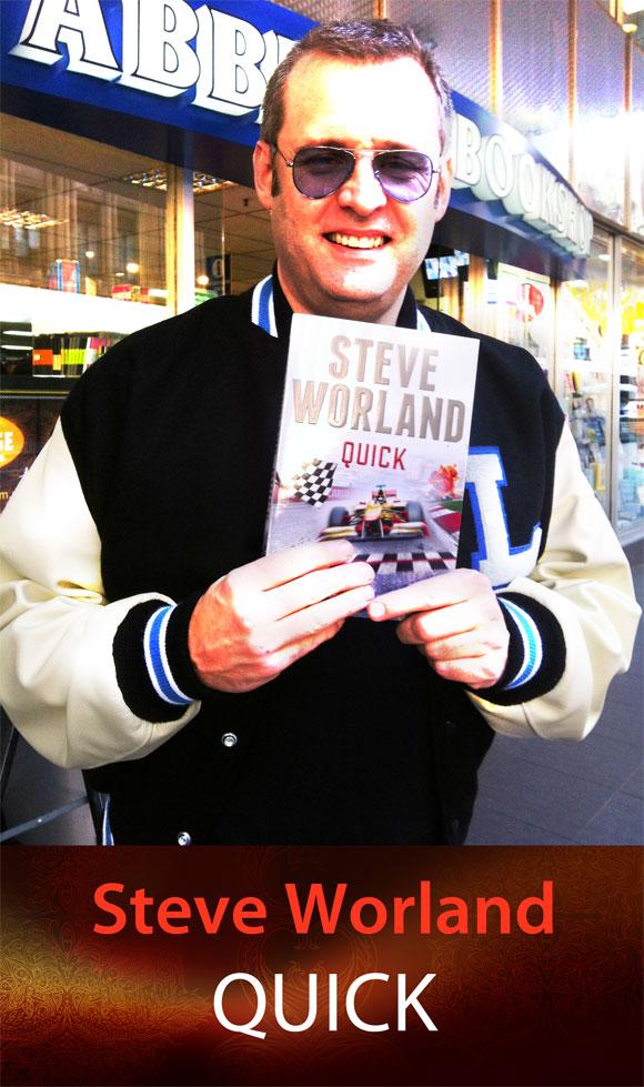 Quick by Steve Worland at Abbey's Bookshop 131 York Street, Sydney
