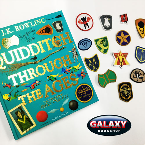Quidditch team patches