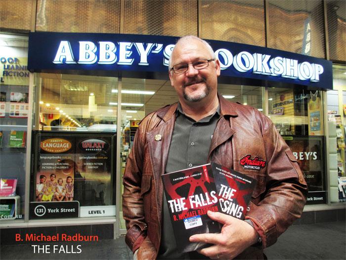 The Falls by B. Michael Radburn at Abbey's Bookshop 131 York Street Sydney