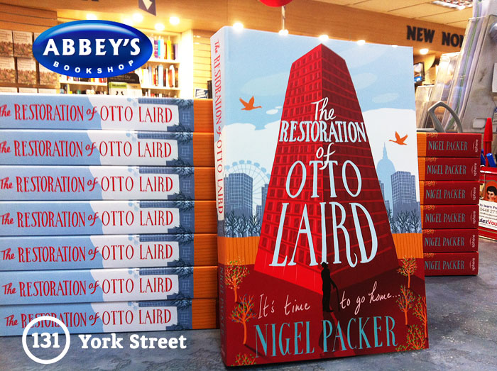 The Restoration of Otto Laird by Nigel Packer at Abbey's Bookshop 131 York Street, Sydney