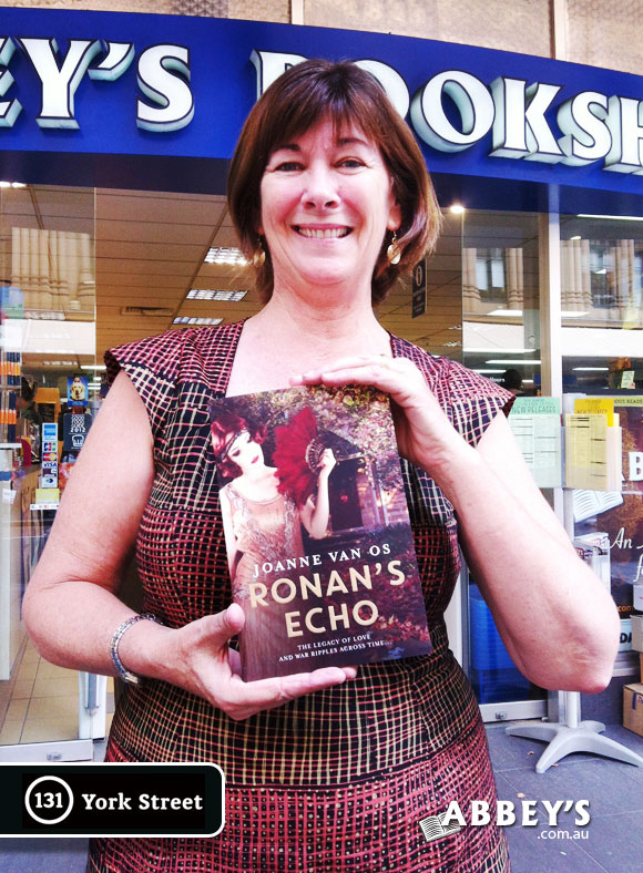 Ronan's Echo by Joanne Van Os at Abbey's Bookshop 131 York Street, Sydney