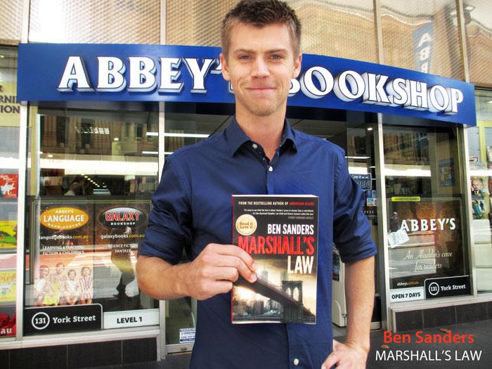 Marshall's Law by Ben Sanders at 131 York Street Sydney