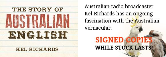 Signed today at Abbey's Bookshop 131 York Street, Sydney
