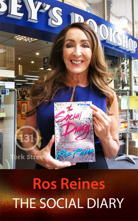 The Social Diary by Ros Reines at Abbey's Bookshop 131 York Street, Sydney