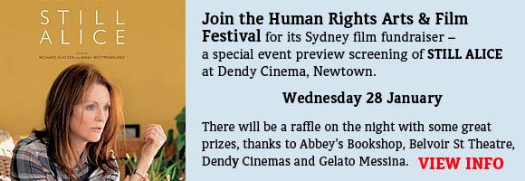 Special screening of the movie Still Alice at Dendy Newtown