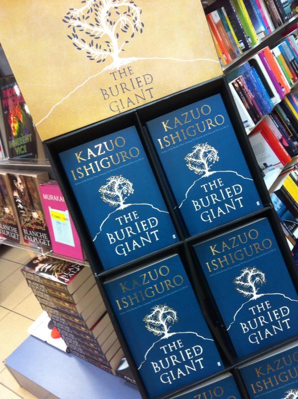 The Buried Giant by Kazuo Ishiguro at Abbey's Bookshop 131 York Street, Sydney