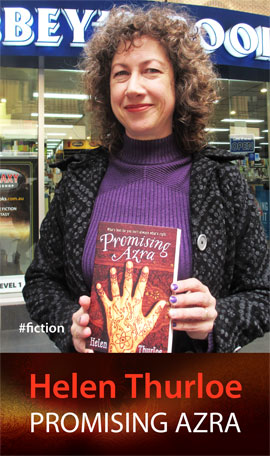 Promising Azra by Helen Thurloe at Abbey's Bookshop 131 York Street Sydney