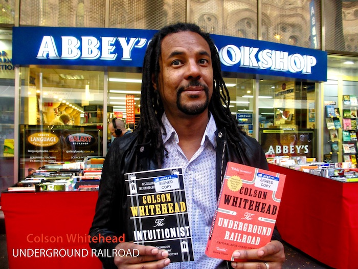 The Underground Railroad by Colson Whitehead at 131 York Street Sydney