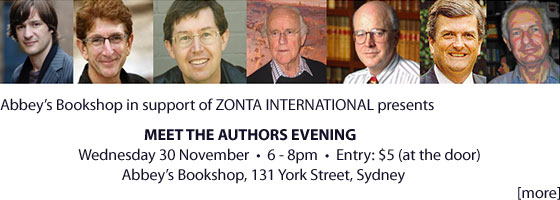 Zonta 2011 Meet the Authors