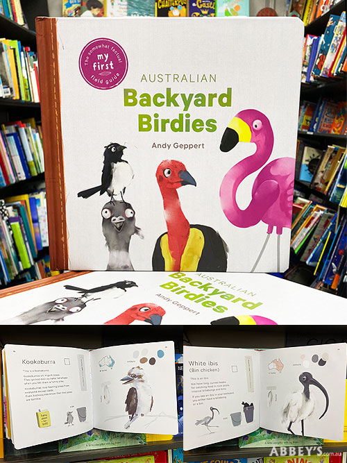 australian backyard birdies by andy geppert