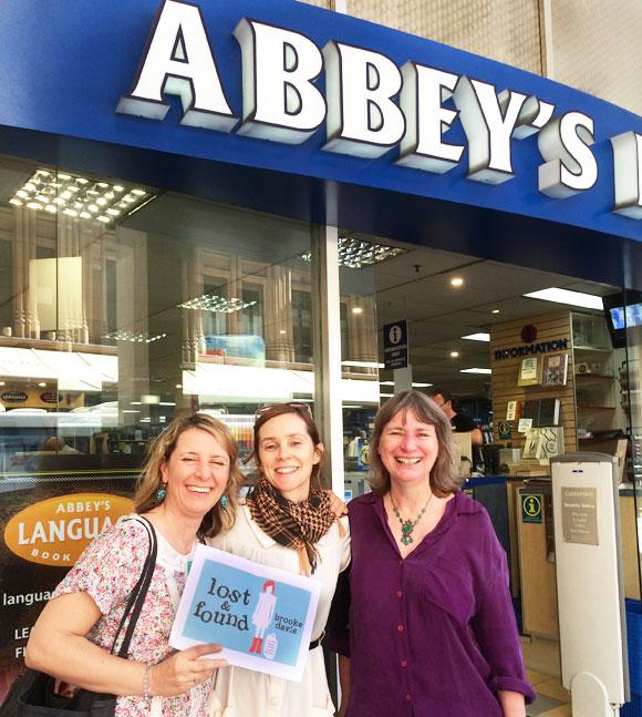 Lost & Found and Brooke Davis at Abbey's Bookshop 131 York Street, Sydney