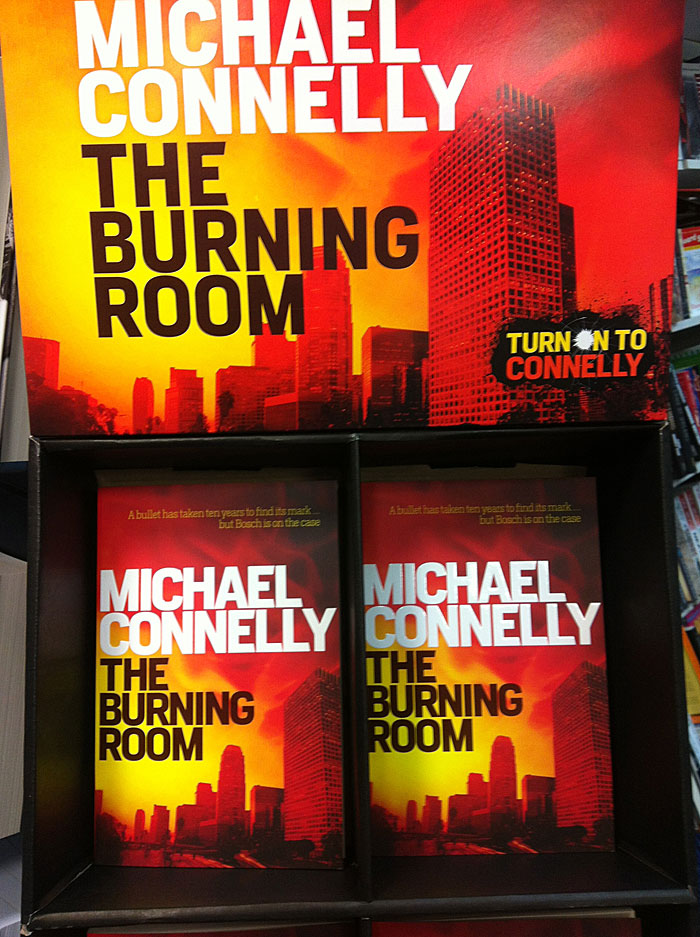 The Burning Room by Michael Connelly at Abbey's Bookshop 131 York Street, Sydney