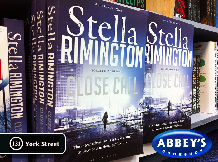 Close Call: Liz Carlyle #8 by Stella Rimington at Abbey's Bookshop 131 York Street, Sydney