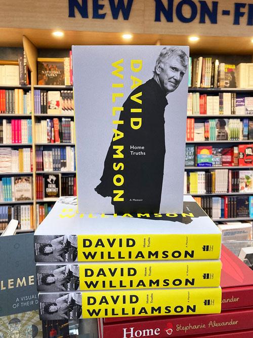home truths a memoir by David Williamson