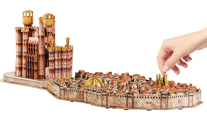 Game of Thrones: King's Landing 4D Puzzle at 131 York Street Sydney
