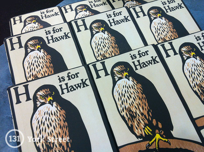 H is for Hawk by Helen Macdonald at Abbey's Bookshop 131 York Street, Sydney