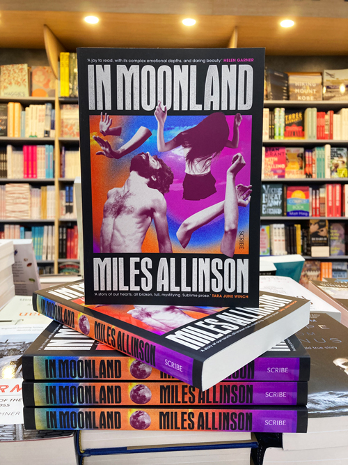 in moorland by Miles Allinson