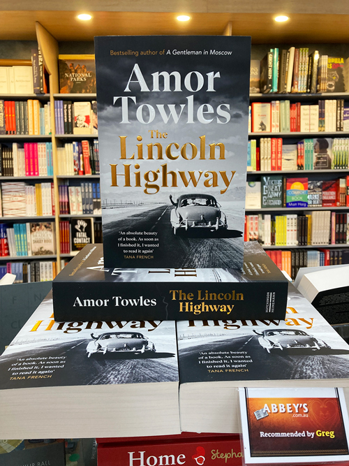 the Lincoln highway by amor towels