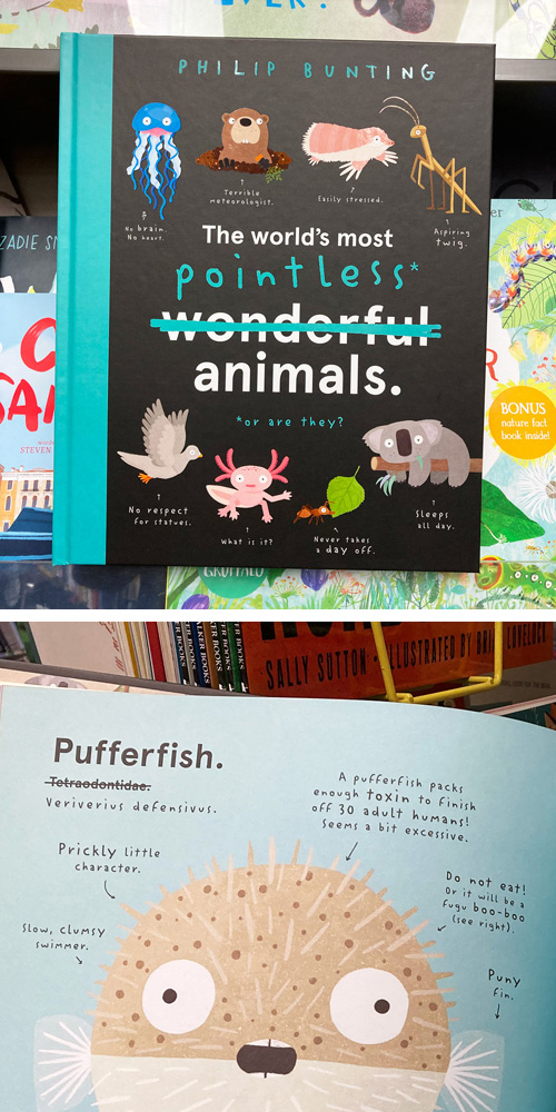 the worlds most pointless animals by Philip bunting