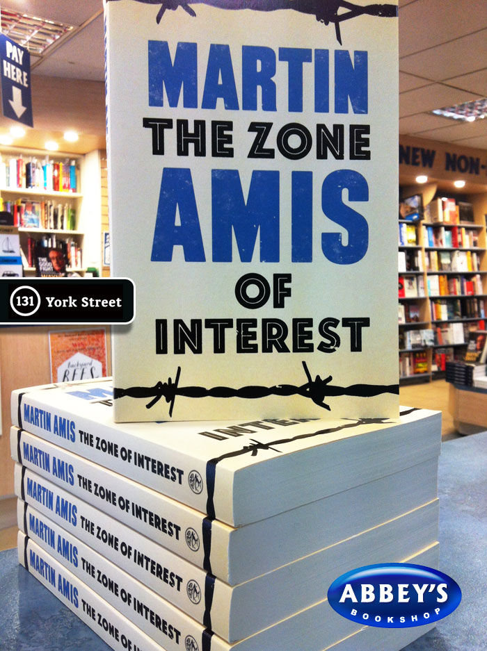 The Zone of Interest by Martin Amis at Abbey's Bookshop 131 York Street, Sydney